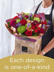Christmas Hand-tied Bouquet £75