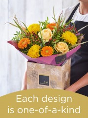 Autumn Hand-tied Bouquet £50
