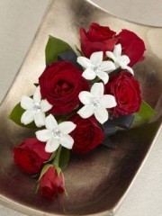 Love and Purity Corsage